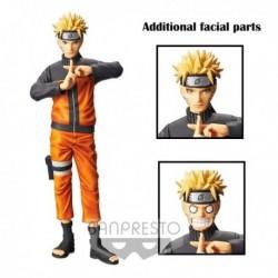 Naruto Uzumaki Grandista Nero Banpresto