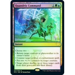 Quandrix Command Foil