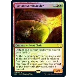 Radiant Scrollwielder Foil