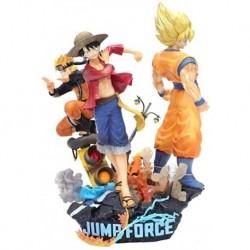 Jump Force Anime Naruto One Piece Luffy Dragon Ball Son Goku Pvc Figura